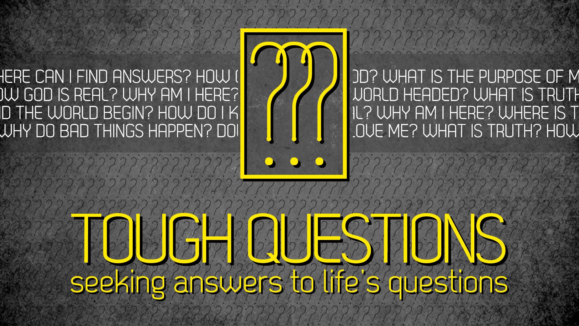 tough questions-2